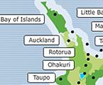 Volcanos of New Zealand